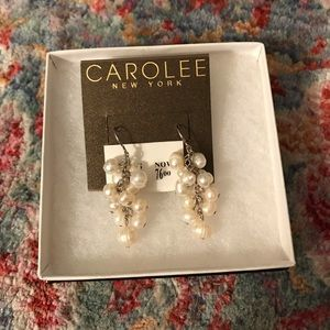 Carolee Pearl Earrings
